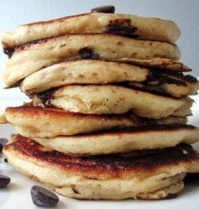 Amerikanske pandekager med chokolade 2