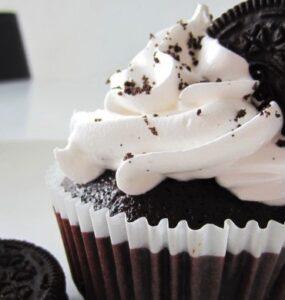 Oreo Cupcakes med italiensk marengs