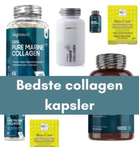 Bedste collagen kapsler - tips til test af collagen tilskud guide